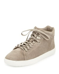 Rag And Bone Kent Suede High Top Sneaker Warm Gray Warm Grey