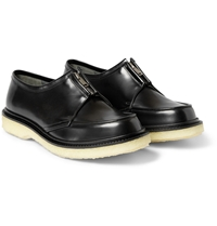 Adieu Type 37 Crepe Sole Leather Derby Shoes