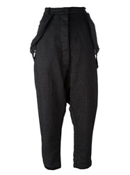 Rundholz Trousers With Braces Grey