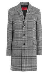 Hugo Printed Wool Coat Gr. Eu 48