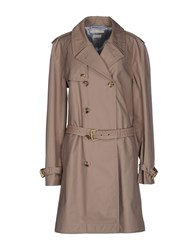 Jacob Cohen Jacob Coh N Coats And Jackets Full Length Jackets Women Light Brown
