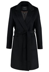 Maison Scotch Classic Coat Navy Blue