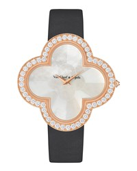 Alhambra Talisman Pink Gold Watch 40Mm Van Cleef And Arpels Pink Gold