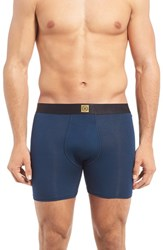 Naked Men's Luxe Stretch Modal Boxer Briefs Dress Blues