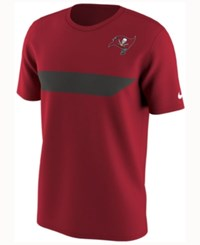 Nike Men's Tampa Bay Buccaneers Color Rush Stripe T Shirt Red