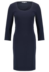 Patrizia Pepe Shift Dress Blue Dark Blue