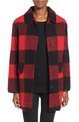 Pendleton Women's Paul Bunyan Plaid Wool Blend Barn Coat