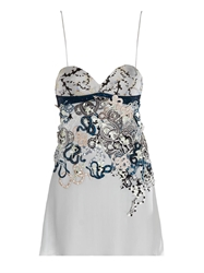 Mary Katrantzou Fidi Embellished Babydoll Dress