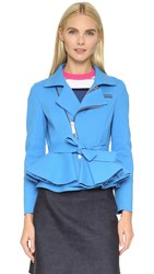 Dsquared Double Stretch Jacket Turquoise