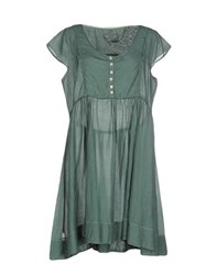 By Ti Mo Dresses Short Dresses Women Green