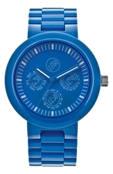 Lego 'Multistud' Multifunction Bracelet Watch 42Mm Blue