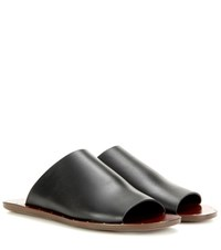 See By Chloe Leather Sandals Black