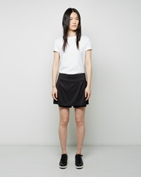 Alexander Wang Stretch Silk Twill Skirt Black