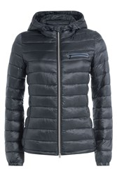 Closed Peak Down Jacket Blue