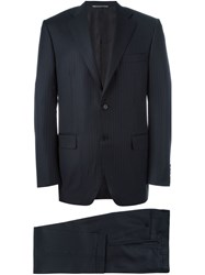 Canali 'Diplomatic' Two Piece Suit Blue