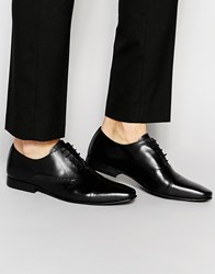 Kg By Kurt Geiger Edenridge Oxford Shoes In Leather Black