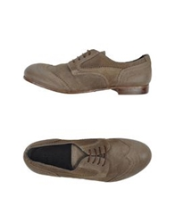 Moma Lace Up Shoes Grey