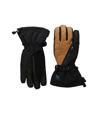 Spyder Omega Conduct Ski Glove Black Natural Ski Gloves