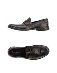 Andrea Ventura Firenze Moccasins Dark Brown