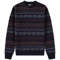 Barbour Orford Fair Isle Crew Multi