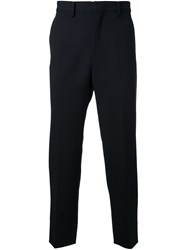 Cityshop Casual Side Stripe Trousers Black