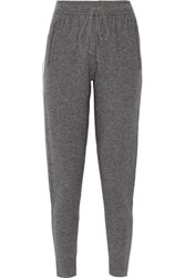 Line Keira Wool And Cashmere Blend Tapered Pants Gray