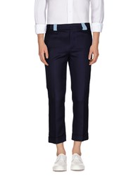 Au Jour Le Jour Trousers Casual Trousers Men Dark Blue