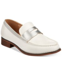 Wanted Crew Penny Loafers Women's Shoes White