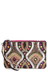 Steven By Steve Madden 'Danica' Beaded Clutch