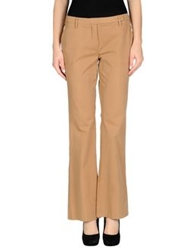 Kiltie Casual Pants Brown