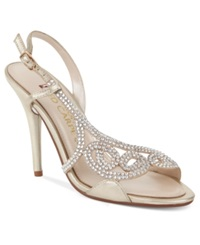 E Live From The Red Carpet E0014 Evening Sandals Women's Shoes Gold Metallic