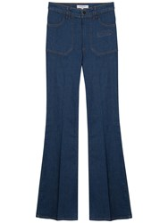 Gerard Darel Flared Jeans Blue