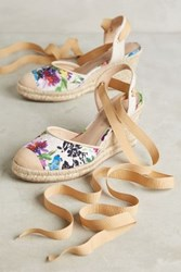 Anthropologie Raphaella Booz Moaveni Wedges Neutral Motif 36 Euro Wedges
