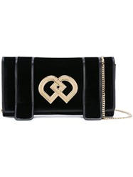 Dsquared2 Small 'Dd' Clutch Black