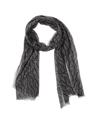 Armani Jeans Accessories Oblong Scarves Men Grey