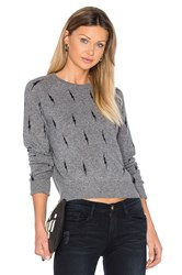 Equipment Kate Moss For Ryder Crew Neck Sweater Gray