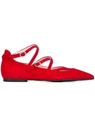 Pretty Ballerinas Strappy Red
