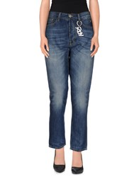 Roy Rogers Roy Roger's Choice Denim Denim Trousers Women Blue