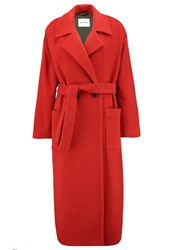 American Vintage Chicago Classic Coat Fraise Red
