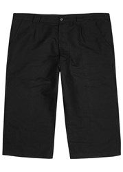 Our Legacy Buco Black Linen Blend Shorts
