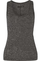 Rag And Bone Stretch Jersey Tank Gray