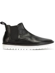 Marsell Marsell Rubber Sole Chelsea Boots Black