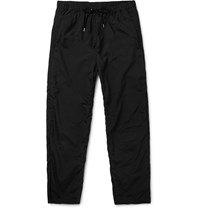 Teatora Beams Shell Trousers Black