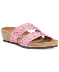 Muk Luks Heather Rose Wedge Sandals Women's Shoes