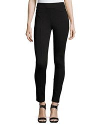 Romeo And Juliet Couture Paneled Ponte Leggings Black
