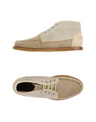 Trussardi Footwear High Tops And Trainers Men Beige