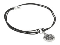 Alex And Ani Kindred Cord Snowflake Rafaelian Silver Bracelet