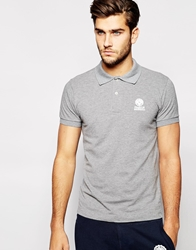 Franklin And Marshall Classic Pique Polo Shirt Grey