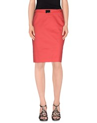Diana Gallesi Skirts Knee Length Skirts Women Coral