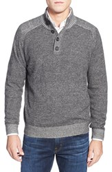 Men's Toscano Plaited Mock Neck Sweater